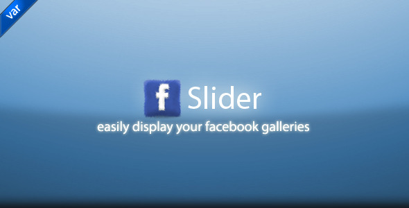 CodeCanyon FB Gallery Slider 2085911