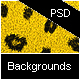 Leopard Backgrounds Pack - PSD & PNG