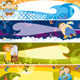 Download Vector Children Banner Set
