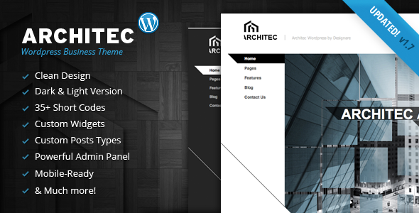 ThemeForest Architec Architecture Wordpress Theme 681173