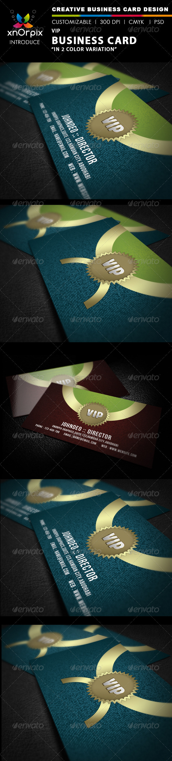VIP Business Card - Creative Business Cards