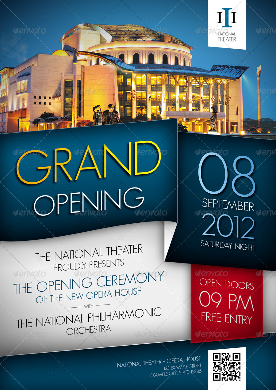 Grand Opening Event Flyer by ApproxArt – Grand Opening Flyer