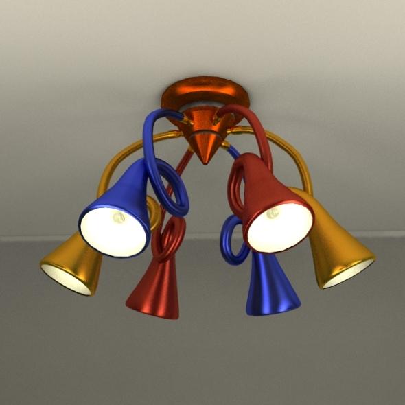 3DOcean Lamp 6P 238586