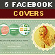 5 Retro Facebook Timeline Covers - GraphicRiver Item for Sale