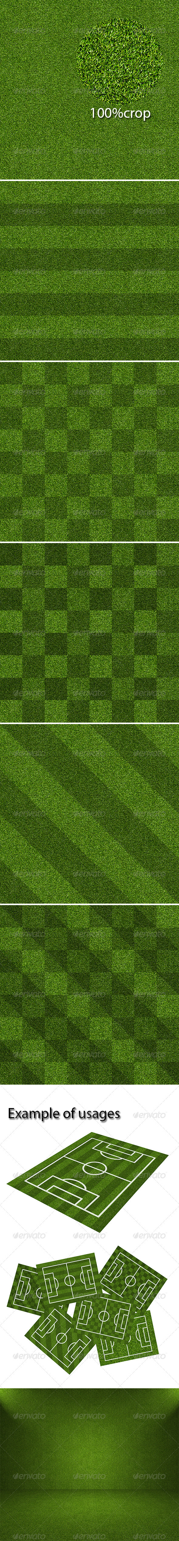 6 Packs Artificial Grass Texture - 3DOcean Item for Sale