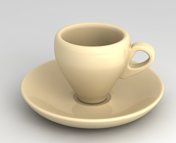 Espresso Cup - 3DOcean Item for Sale