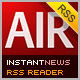 InstantNews Wordpress & RSS Desktop Reader - ActiveDen Item for Sale