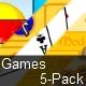 Games 5-Pack - ActiveDen Item for Sale