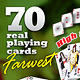 Farwest Set : 70 Real Playing Cards for Gaming - GraphicRiver Item for Sale