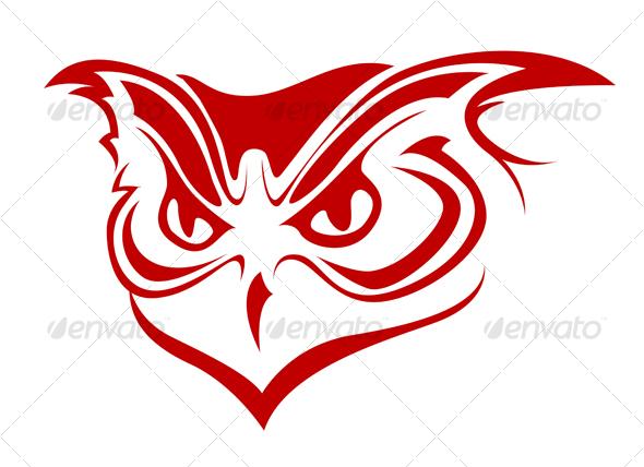 GraphicRiver Owl head 79593