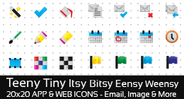 Teeny Tiny Itsy Bitsy Eensy Weensy Icons
