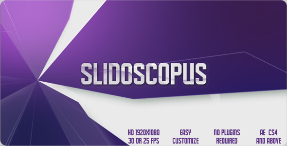 After Effects Project - VideoHive Slidoscopus 2101609