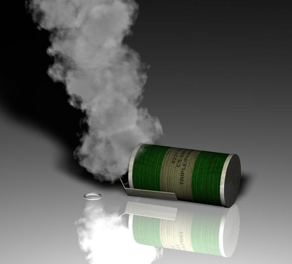 3DOcean Smoke grenade 79276