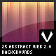25 Abstract Web 2.0 Backgrounds - GraphicRiver Item for Sale