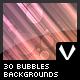 30 Bubbles Backgrounds - GraphicRiver Item for Sale