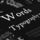 Word Typography Project - VideoHive Item for Sale