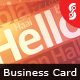 Hello Card - GraphicRiver Item for Sale