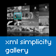 XML Simplicity Gallery With Slideshow V3 - ActiveDen Item for Sale