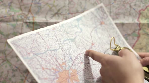 VideoHive A Young Man Prepares for a Tourist Trip 19130093