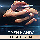 Open Hands Logo Reveal (2in1) - VideoHive Item for Sale