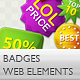 TASTY BADGES PACK 1 - GraphicRiver Item for Sale