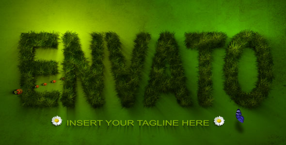 After Effects Project - VideoHive Grass Logo 239172