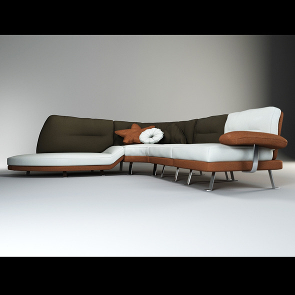 3D Models - Quality 3dmodel of modern sofa Lord. IL Loft | 3DOcean