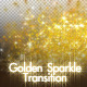 Golden Sparkle Transition - VideoHive Item for Sale