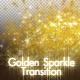 Golden Sparkle Transition - VideoHive Item for Sale