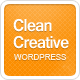 Clean Creative: Clean, Minimal WordPress Theme