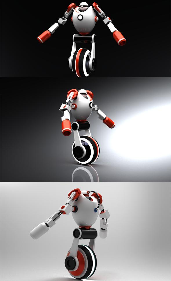 3DOcean Robot 239434
