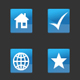 Blue Icon Set - ActiveDen Item for Sale