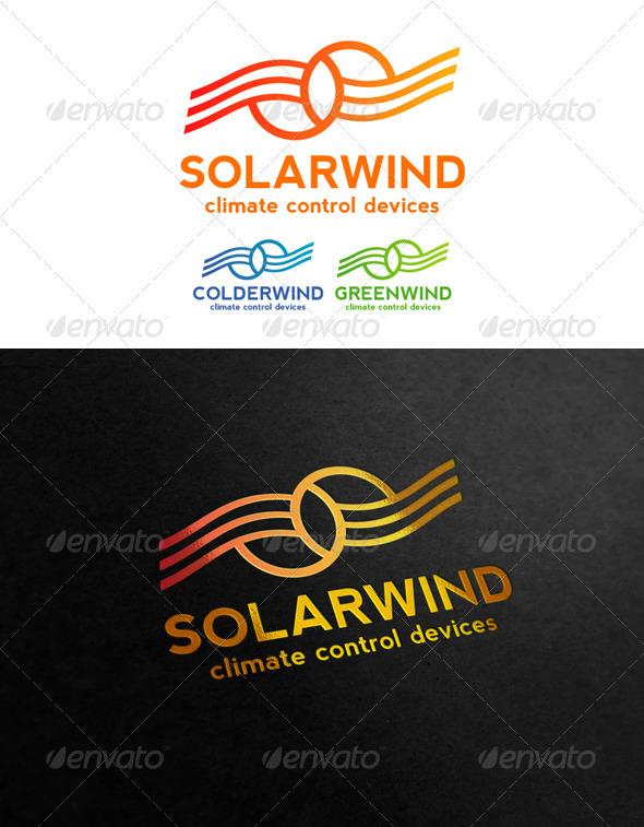 Solar Wind - Symbols Logo Templates