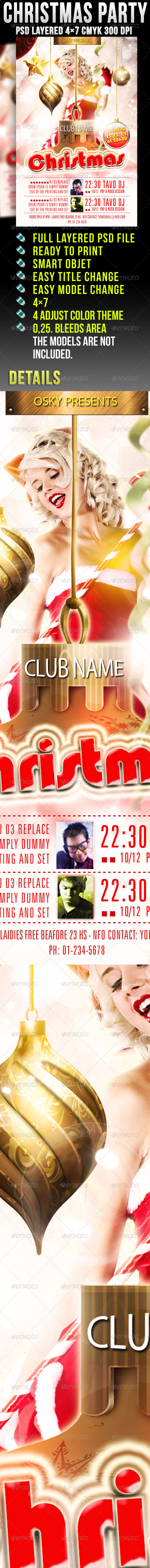 GraphicRiver Christmas Party 921536
