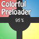 Colorful Preloader (Light/Dark) - ActiveDen Item for Sale