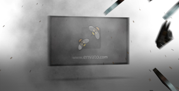 After Effects Project - VideoHive Exploding TV Logo 239501