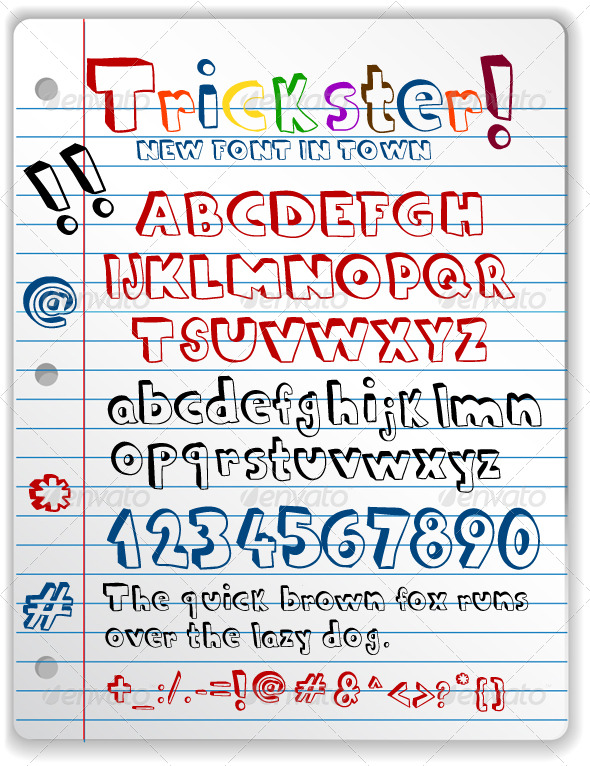 Doodle Font - Comic Decorative