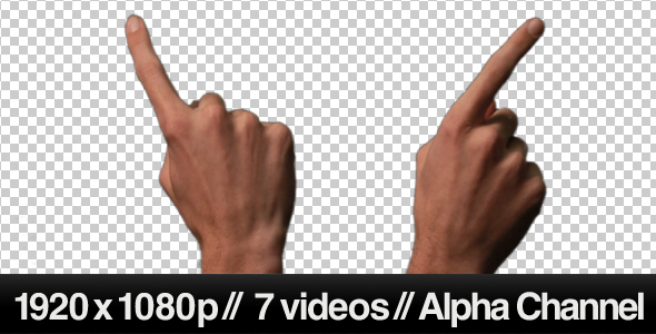 VideoHive Touch Screen Finger Gesture Sliding Across 239517