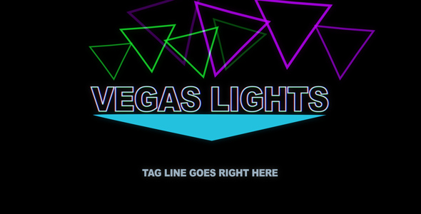 After Effects Project - VideoHive Vegas Lights 239656