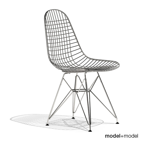 3DOcean Eames Wire Chair DKR 239711