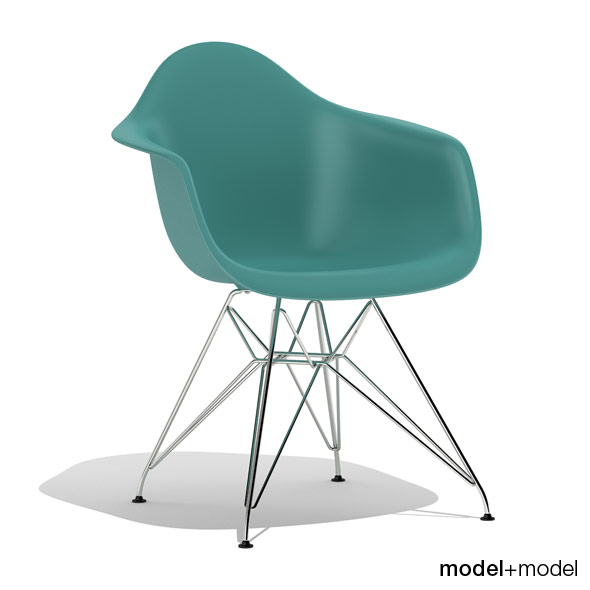 3DOcean Eames Plastic Armchair DAR 239716