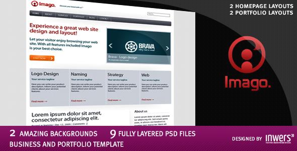 Imago - Business and Portfolio Template - 1_imago_preview