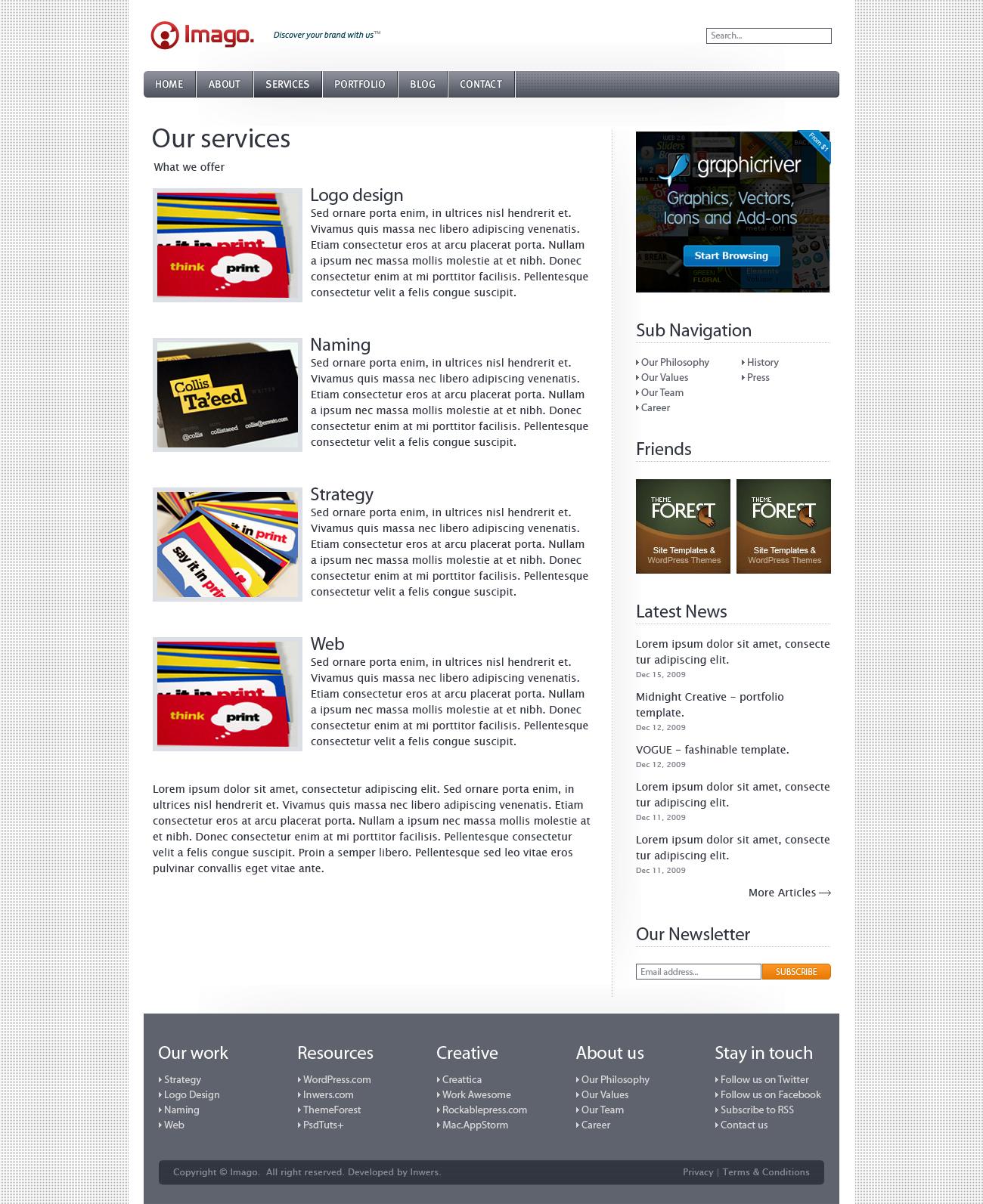 Imago - Business and Portfolio Template - 3_imago_services