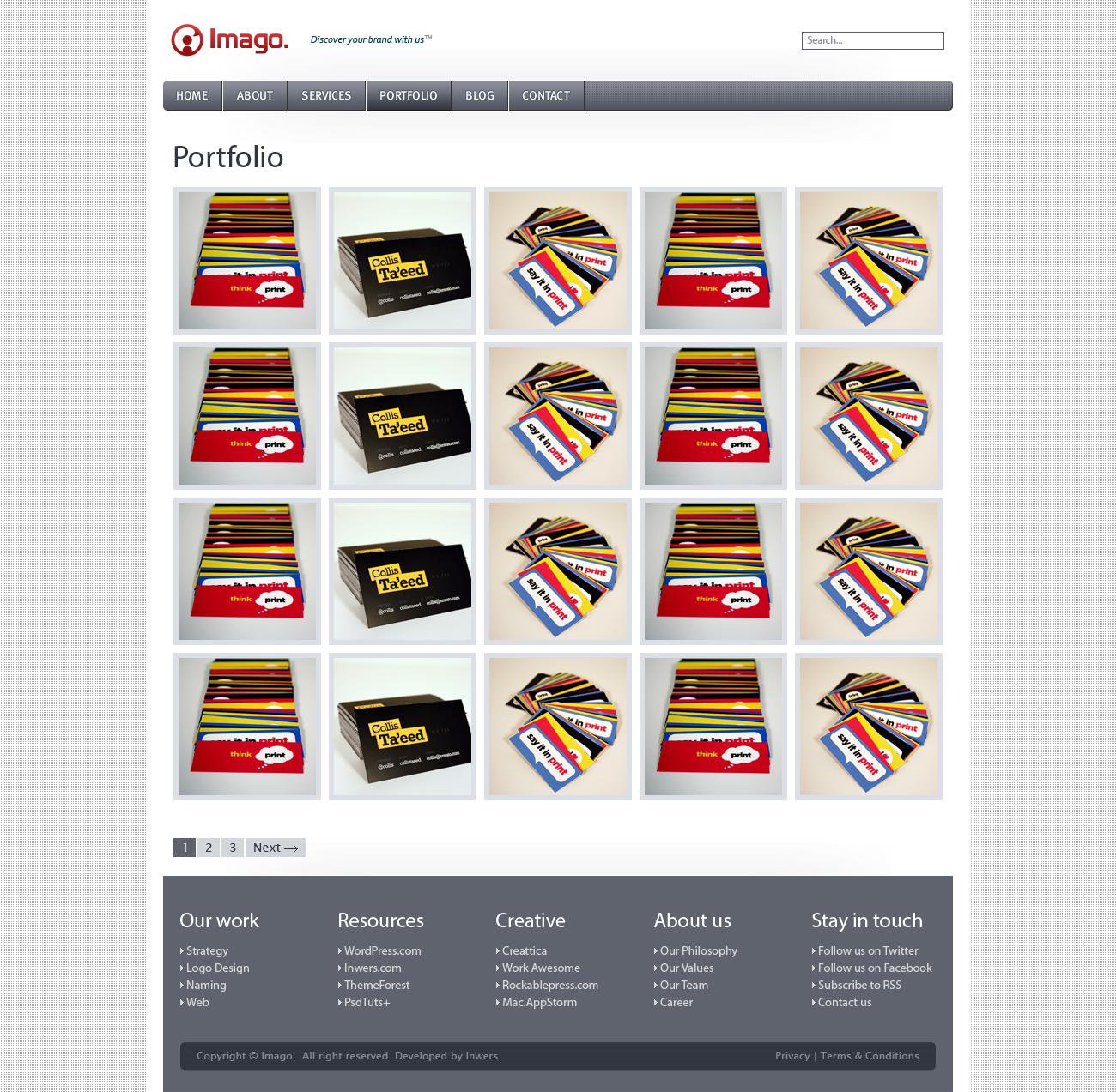Imago - Business and Portfolio Template - 4_imago_portfolio_vers_1