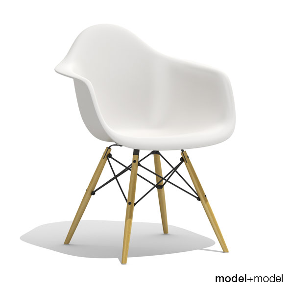 Eames Plastic Armchair DAW - 3DOcean Item for Sale
