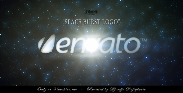 VideoHive The Space Burst Logo 2113959