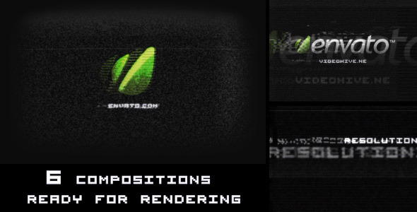 VideoHive Digital Glitch Logo Reveal 2114494