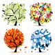 Four Seasons Tree - Spring, Summer, Autumn, Winter - GraphicRiver Item for Sale