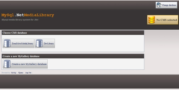 CodeCanyon MySql Net Media Library 239948