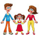 Human family - GraphicRiver Item for Sale